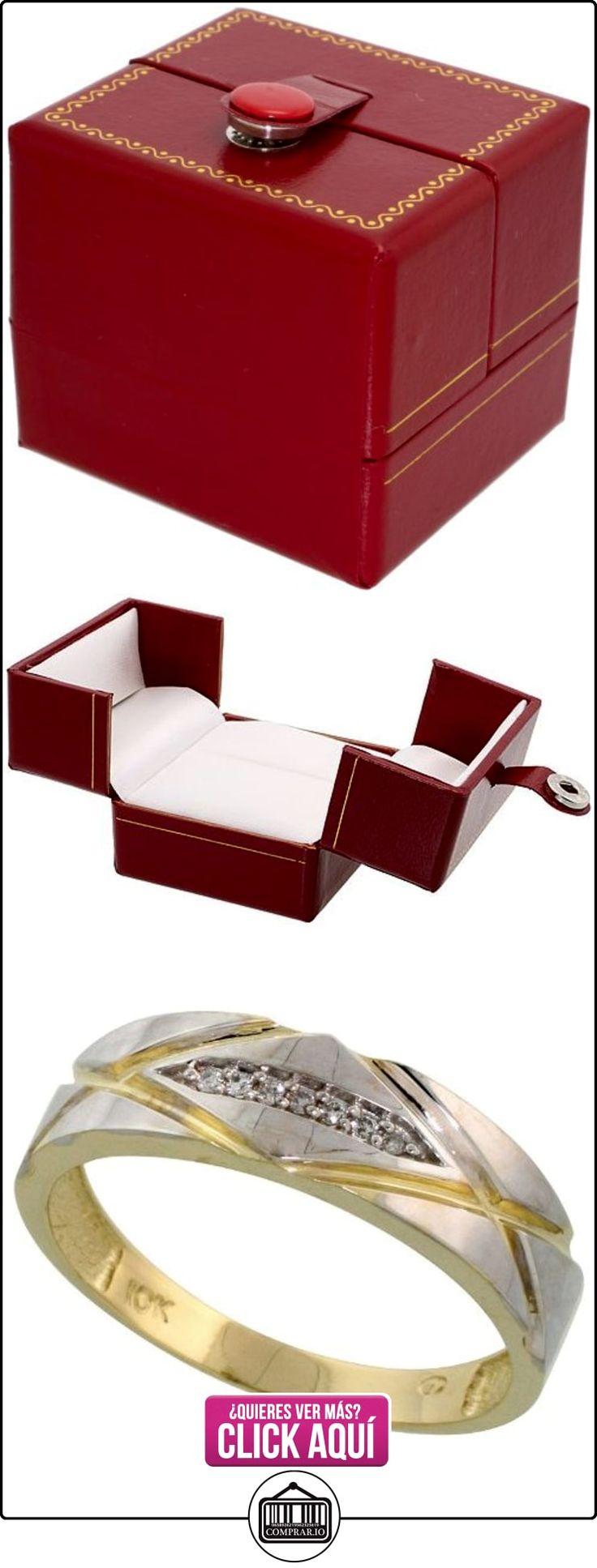 Revoni - Juego de alianzas de oro amarillo  ✿ Joyas para hombres especiales - lujo ✿ ▬► Ver oferta: http://comprar.io/goto/B005M39IKI