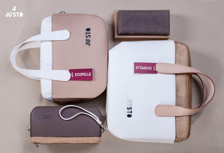 Elementi essenziali per una donna! Puoi scegliere il tuo accessorio JU'STO su www.justo-store.com
