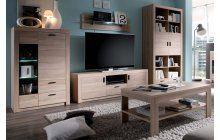 Obývací nábytek dub sonoma http://www.nejlepsi-nabytek.cz/obyvaci-sestavy/obyvaci-sestava-nemesis-wm-dub-sonoma