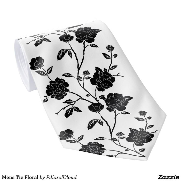 Mens Tie Floral