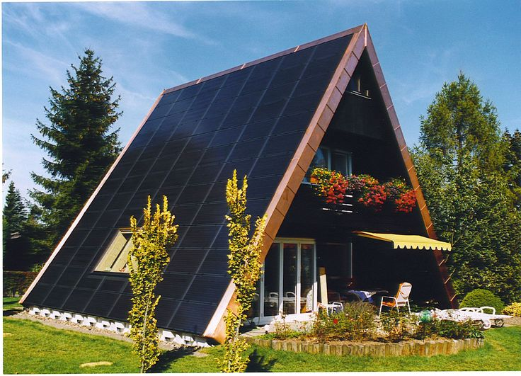 unique roof design with solar                                                                                                                                                                                 More