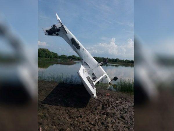 Pesawat latih Cessna jatuh di Kota Wali