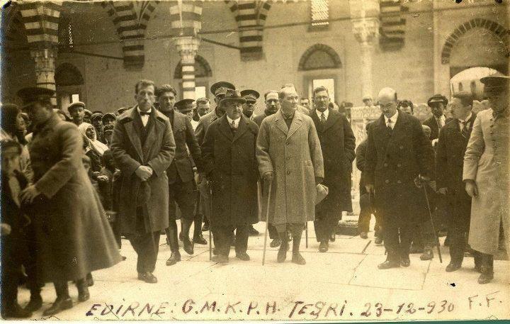 Edirne Atatürk Selimiye Ziyaretinde , 1930 Natali AVAZYAN (@NataliAVAZYAN) | Twitter
