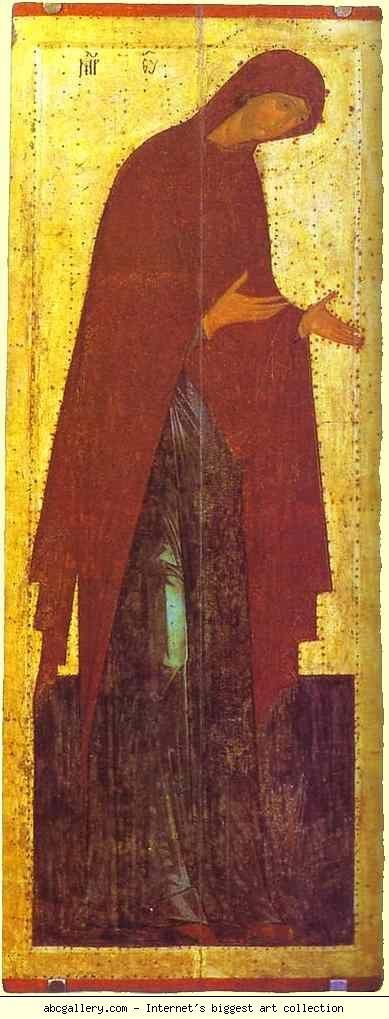 Dionisii (Dionysius). The Virgin. Olga's Gallery.
