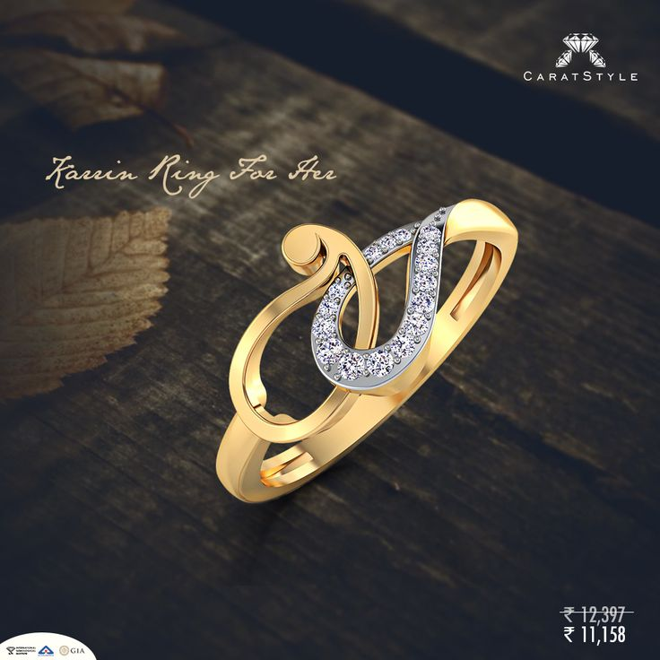 Her ring should be unique, like her. #rings #jewelry #shopping #india #style #fashion #lifestyle #womanshopping #diamonds #caratstyle #jewellery