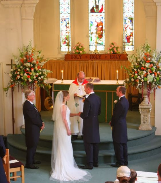 The Stunning Autumn Wedding Day of Sarah   UNZA pronovias wedding dress - real wedding