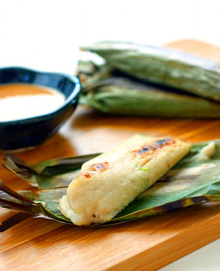 Otak-Otak - Indonesian Grilled Fish Cakes