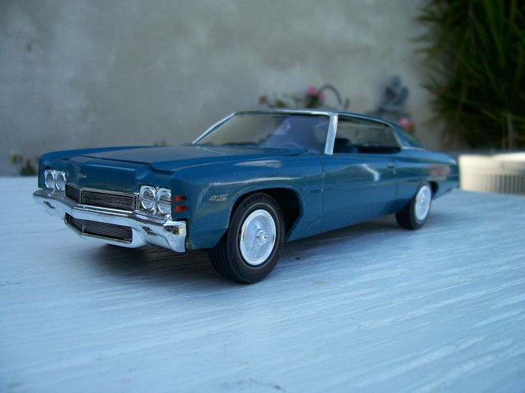 1972 chevy impala model car 1 25 scale model cars. Black Bedroom Furniture Sets. Home Design Ideas