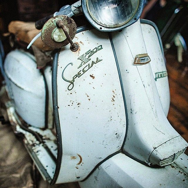 #Alabama Barn Find #Lambretta SX200 Rare Speed #MotoPioneer