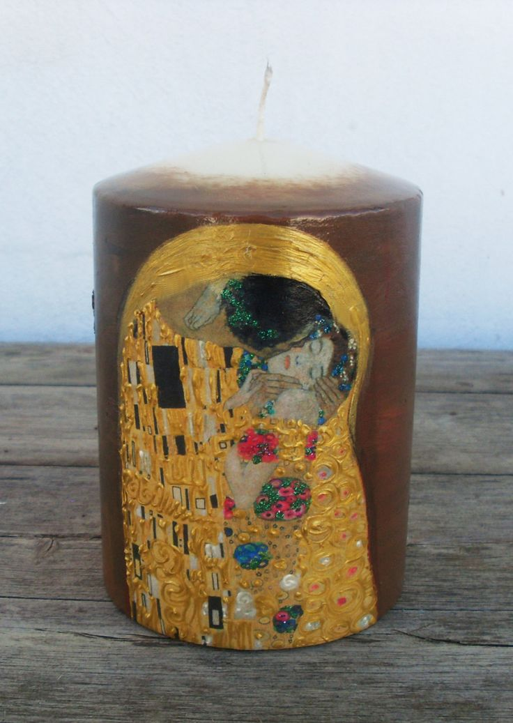 """Candle - """"Kiss"""" by allabouthandicraft on Etsy"""