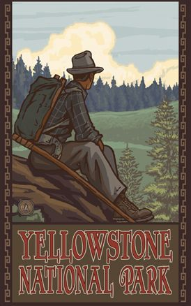 Yellowstone National Park by Paul Lanquist