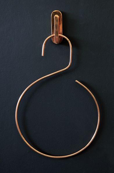 copper, hook, rocket st. george, hanger, haken, hänger, kupfer, things, design, home, lifestyle,