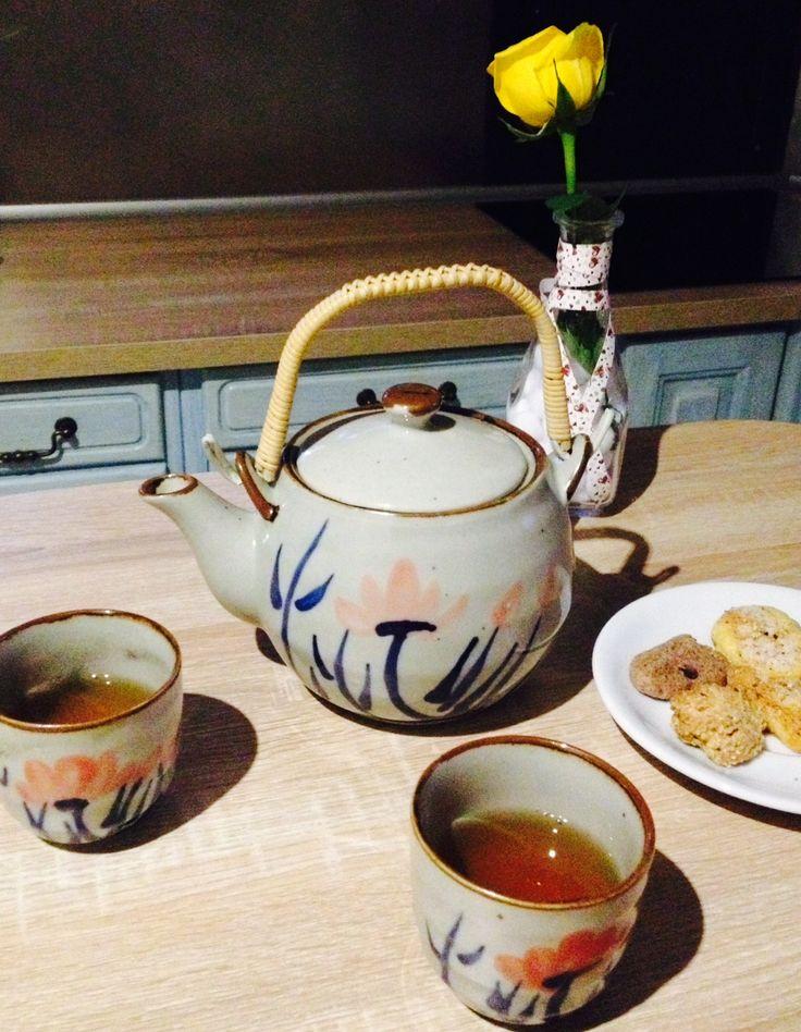 Momento color de té perfecto para desconectar y charlar ;) #colordete #te #tea #teatime #momentote #desconexion #charlar #chatting #relax