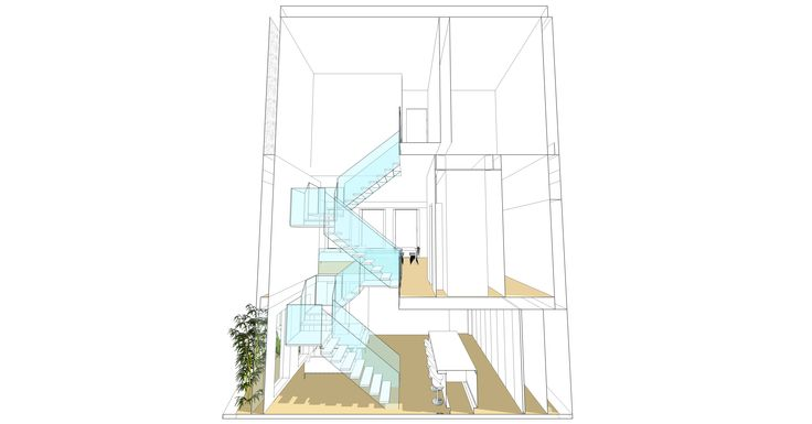 #stairs, #section, #architecture