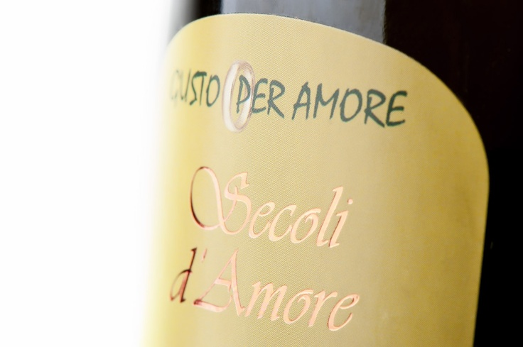 """Italian olive oil """"Secoli D'Amore"""" - food gift - corporate gifts"""