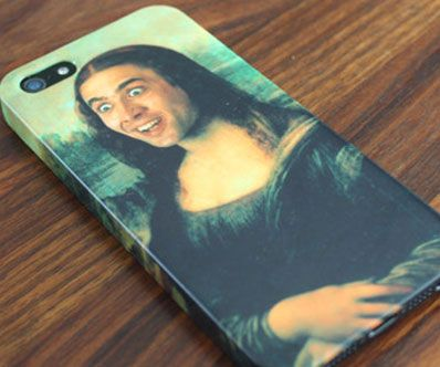 Protect your hip new iPhone with an iconic art piece re-mastered to include the one true god, Nicolas Cage. This holy grail of iPhone add-on technology features a hard impact-resistant body that will last you longer than Nic Cage's spotless movie career.
