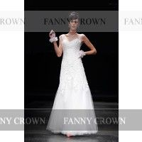 Backless Long White Prom Dresses | Fanny Crown