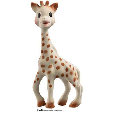 Vulli Doudou sophie la girafe boite cadeau