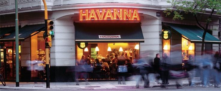 Havanna cafe. heaven on earth. Buenos Aires.Good Air