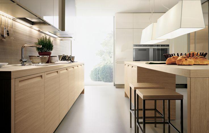 MINIMAL KITCHEN CABINETRY Designed by Poliform