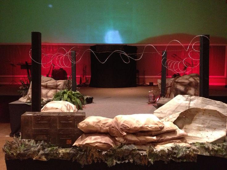 Army Stage Design Youth Group Ideas Pinterest Stage