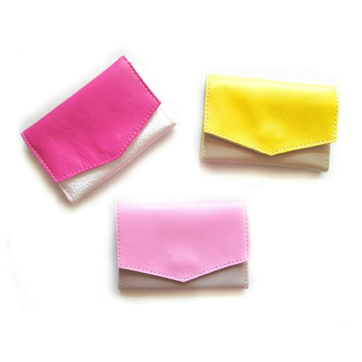 Nice small leather wallets