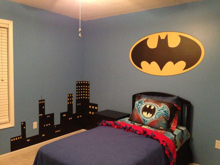 Cityscape For My Son's Batman Room!
