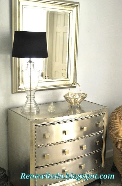 167 best Metallic Paint Furniture images on Pinterest Furniture