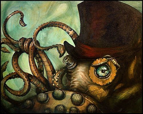 Steampunk Octopus - ToxicPretty