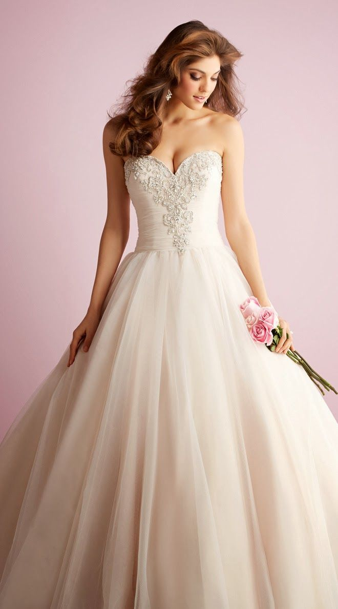 A princess moment by Allure Romance Spring 2014 Bridal Collection | bellethemagazine.com