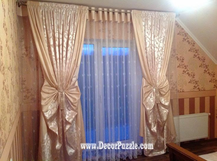 unique curtain designs 2015 and curtain styles embossed