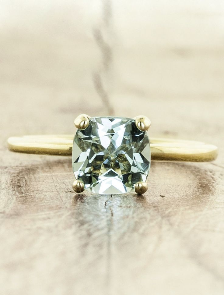 17 Stunning, Non-Diamond Engagement Rings To Lust Over