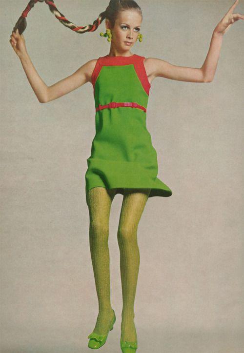 "saloandseverine: "" Vogue US, The Daring Young Romantics Twiggy by Richard Avedon """