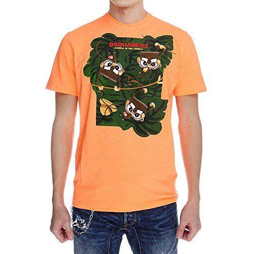 (ディースクエアード) DSQUARED2 Men's T-shirt orange ラウンドネック半袖リネンTシ... https://www.amazon.co.jp/dp/B01HEE55YU/ref=cm_sw_r_pi_dp_Vc0AxbFRZTEXH