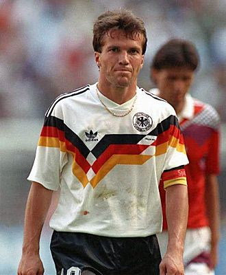 Lothar Matthaus Yes. Soccer a beautiful game. World Cup is around the corner www.brasilcopamundotowel.com