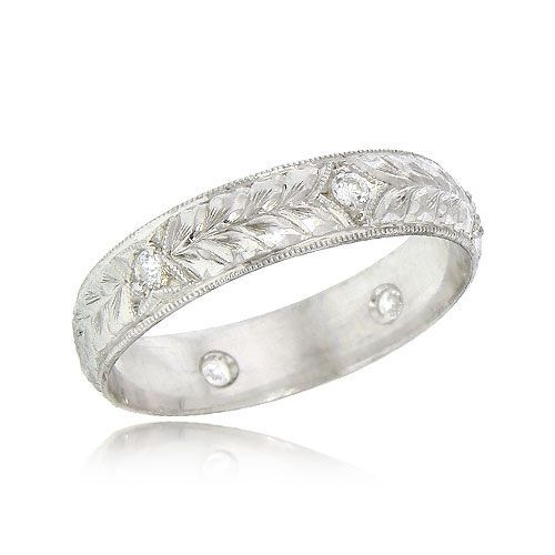 17 Best Images About Engraved Wedding Bands On Pinterest