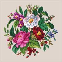 Patterns 4 - Victorian Cross Stitch and Berlin Wool Work Patterns