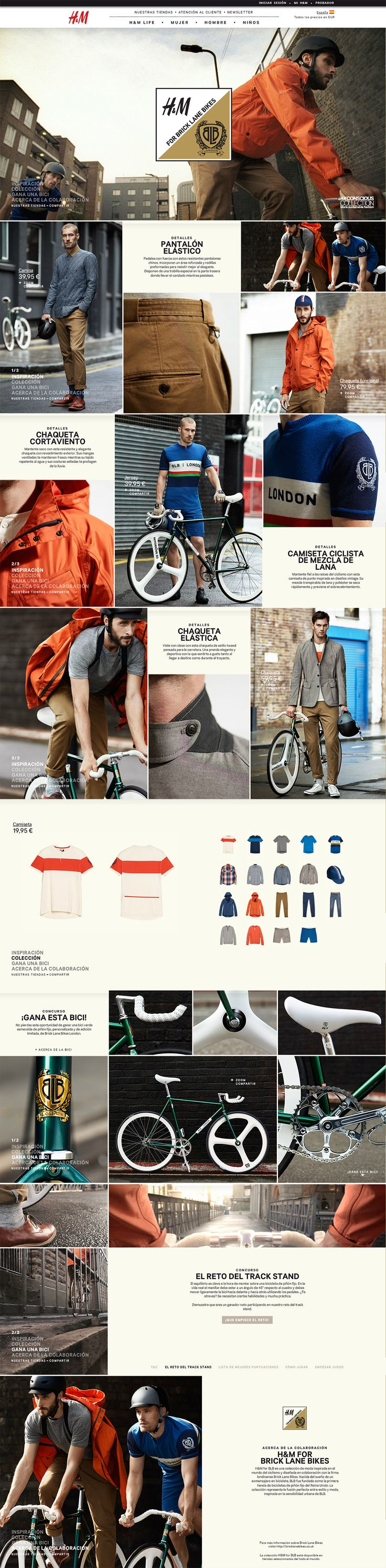 Web Graphic design. UI layout. Fashion E_Commerce