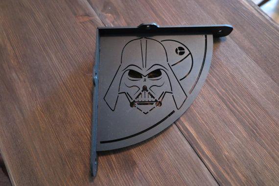 2x Darth Vader shelf bracket 2 brackets for complete shelf