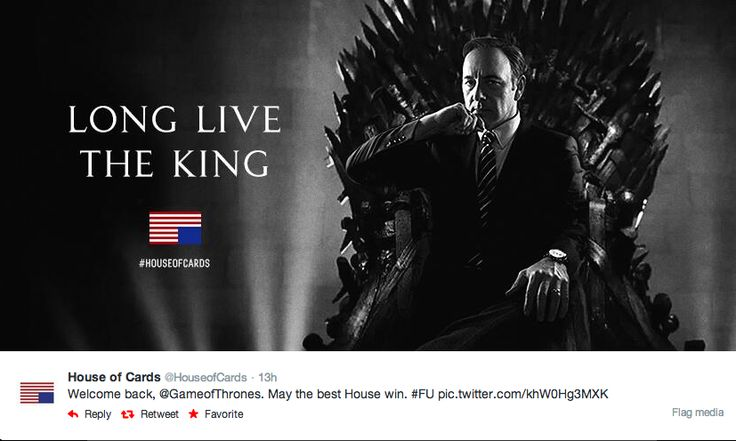 Game of Thrones vs. House of Cards and More Social Media TV ...