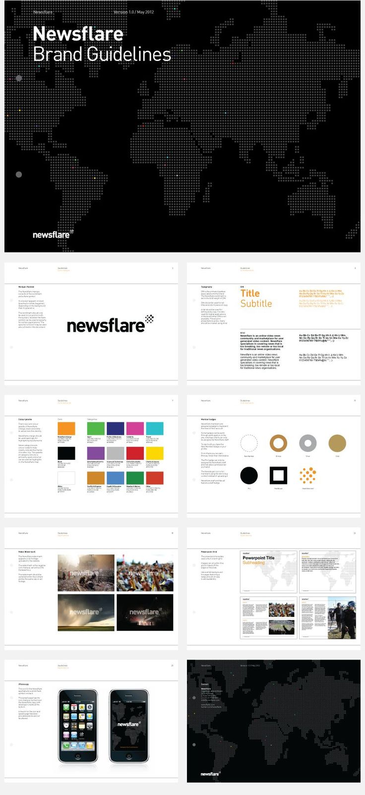 10 best Design Brand Guidelines images on Pinterest