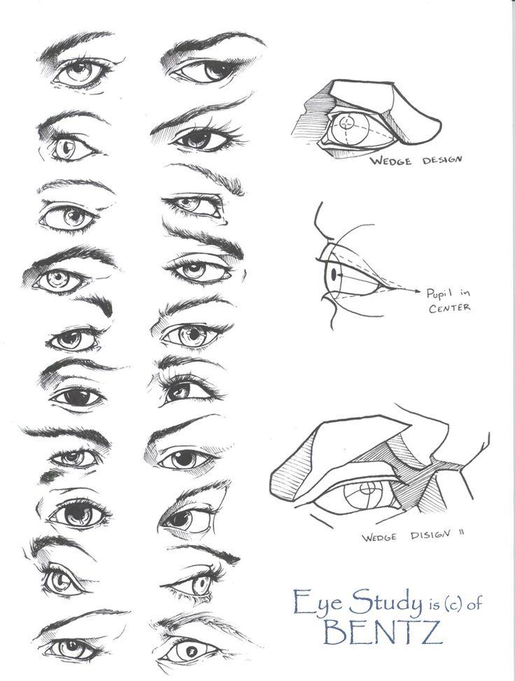Sketched Eye Studies... They look so good. :)