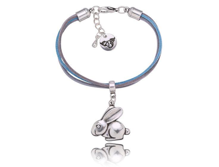 By Dziubeka! #jewelry #Bydziubeka #animal #rabbit #bracelet