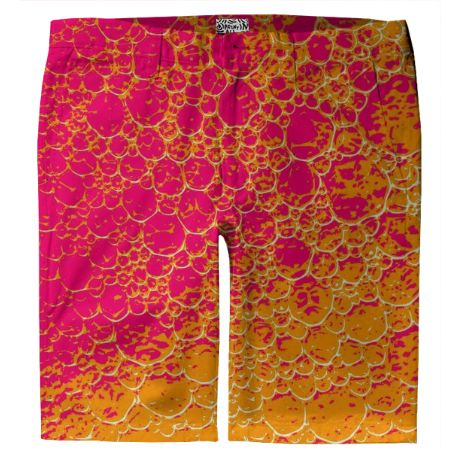 Shop Funky Dinosaur HEAT Trouser Shorts by GrandeDuc | Print All Over Me