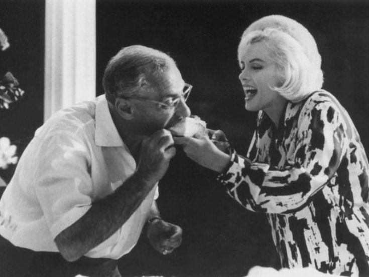"""1er Juin 1962 / 36ème anniversaire de Marilyn sur le plateau du film """"Something's got to give"""" (part 2)."""