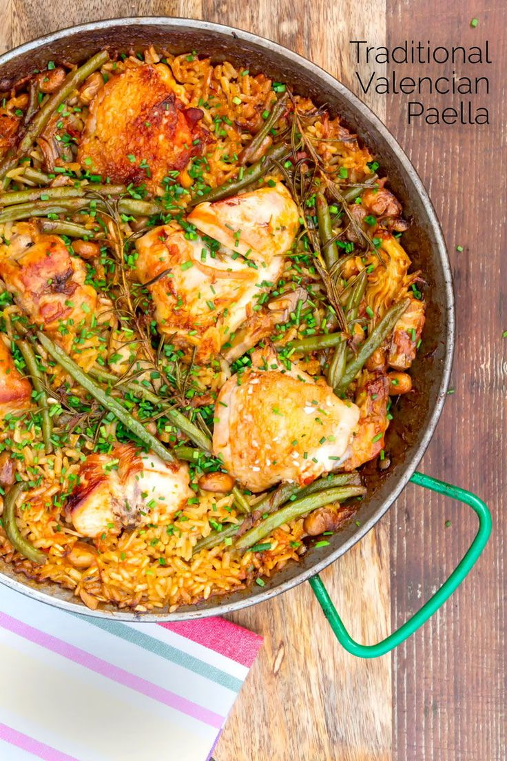 A traditional paella recipe is Valencian Paella, featuring a combination of rabbit & chicken my version gives both BBQ &…
