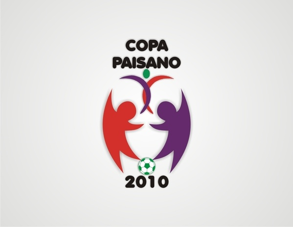 Copa Paisano 2010 | Logo by Vembri Rizky, via Behance