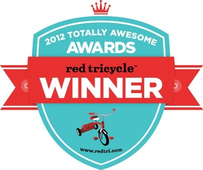 We were voted the Best Mom Run Business in the Portland area in the Red Tricycle 2012 Totally Awesome Awards!