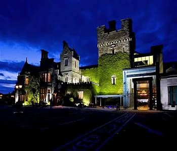 Clontarf Castle :: We stay here when we fly into Dublin instead of Shannon. Lovely hotel, especially at Xmas.