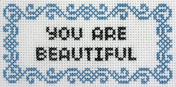 I've been a huge fan of the You Are Beautiful project for a very long time. I'm always looking for ways to spread the message, from putting stickers on a cactus in Marfa to cross stitching the silver logo years ago. Plus, my 90-year-old mom is probably their biggest fan--she'll be so surprised to get this sticker in her subscription pack! (Hi mom! I made this for you!) - Julie Jackson, Richardson, Texas We couldn't be more excited about this month's release. Julie was kind enough to inclu...